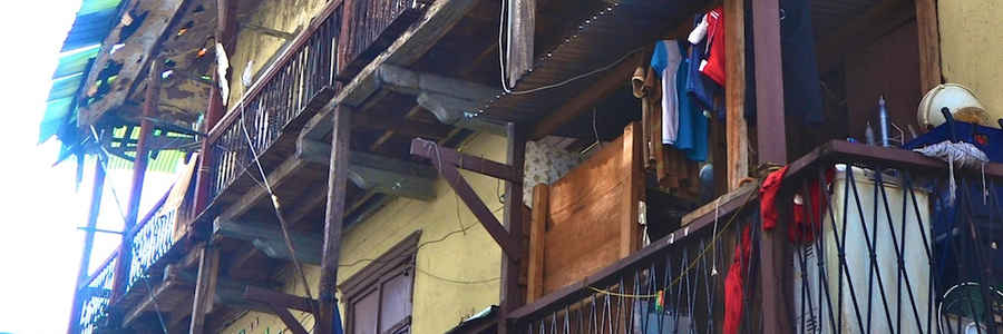 Balcon de madera