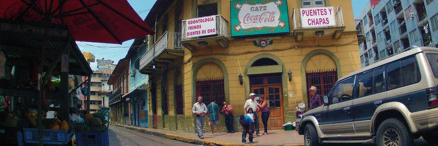 Café Coca Cola - Ciudad de Panamá