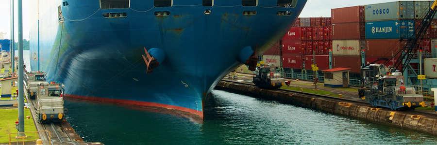 Esclusa de Gatún - Canal de Panamá