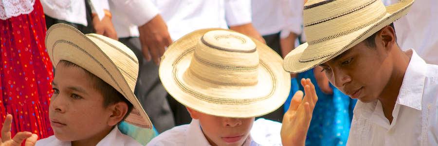 Detrás de las cámaras del Sombrero Pintao
