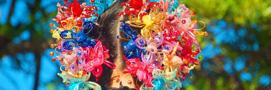 Tembleque de Colores - Pollera Panameña