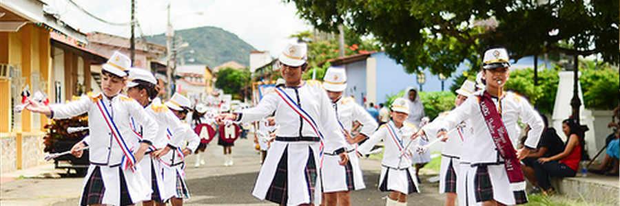 Desfiles Patrios en el interior