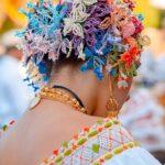 Tembleques de colores - Desfile de las Mil Polleras - Enero de 2014 - Pollera Panameña