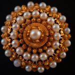 Mosqueta de perlas - Joyas de la pollera