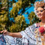 Pollera de gala - Desfile de las Mil Polleras - Enero de 2016 - Pollera Panameña