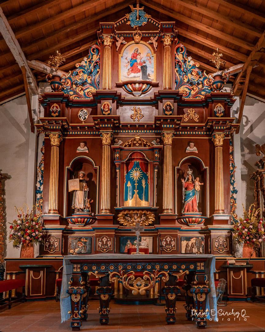 Retablo de la La Iglesia de Santo Domingo de Guzmán