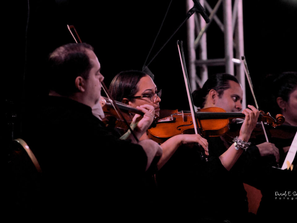 Sinfónica Nacional de Panamá en presentación en Ciudad de Panamá en el año 2019