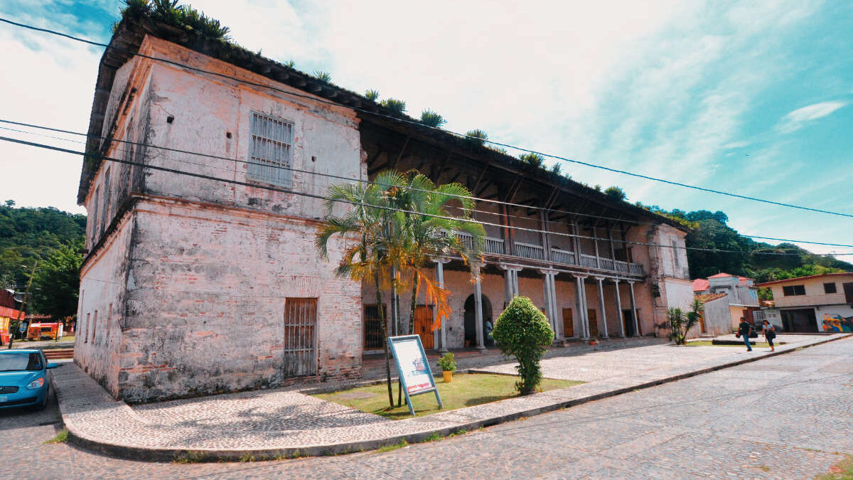 Edificio de la Aduana en Portobelo